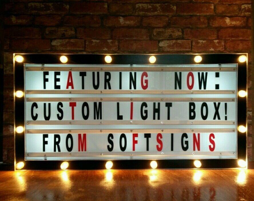 Cinema light box Cinema Lights and Cinema room