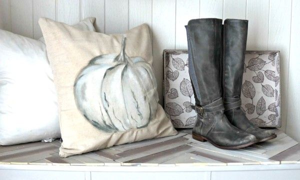 Cheap Home Decor: Easiest DIY Drop Cloth Window Treatments