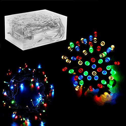 30 Mini Bulb LED Battery Operated Fairy String Lights in Assorted