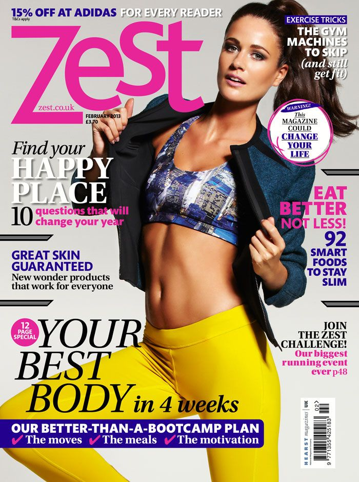 The new issue of Zest is out today! Hope you've picked up your issue packed full of inspiration to #keepthemomentum!