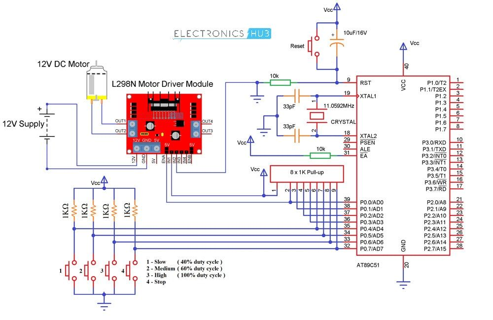Pwm Based Dc Motor Speed Control Using Microcontroller Motor