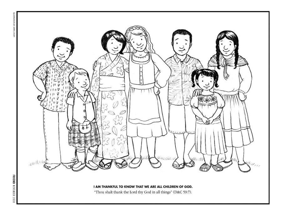 We Are All Children Of God Coloring Page Coloring Pages Free Coloring Pages Coloring Pages Inspirational