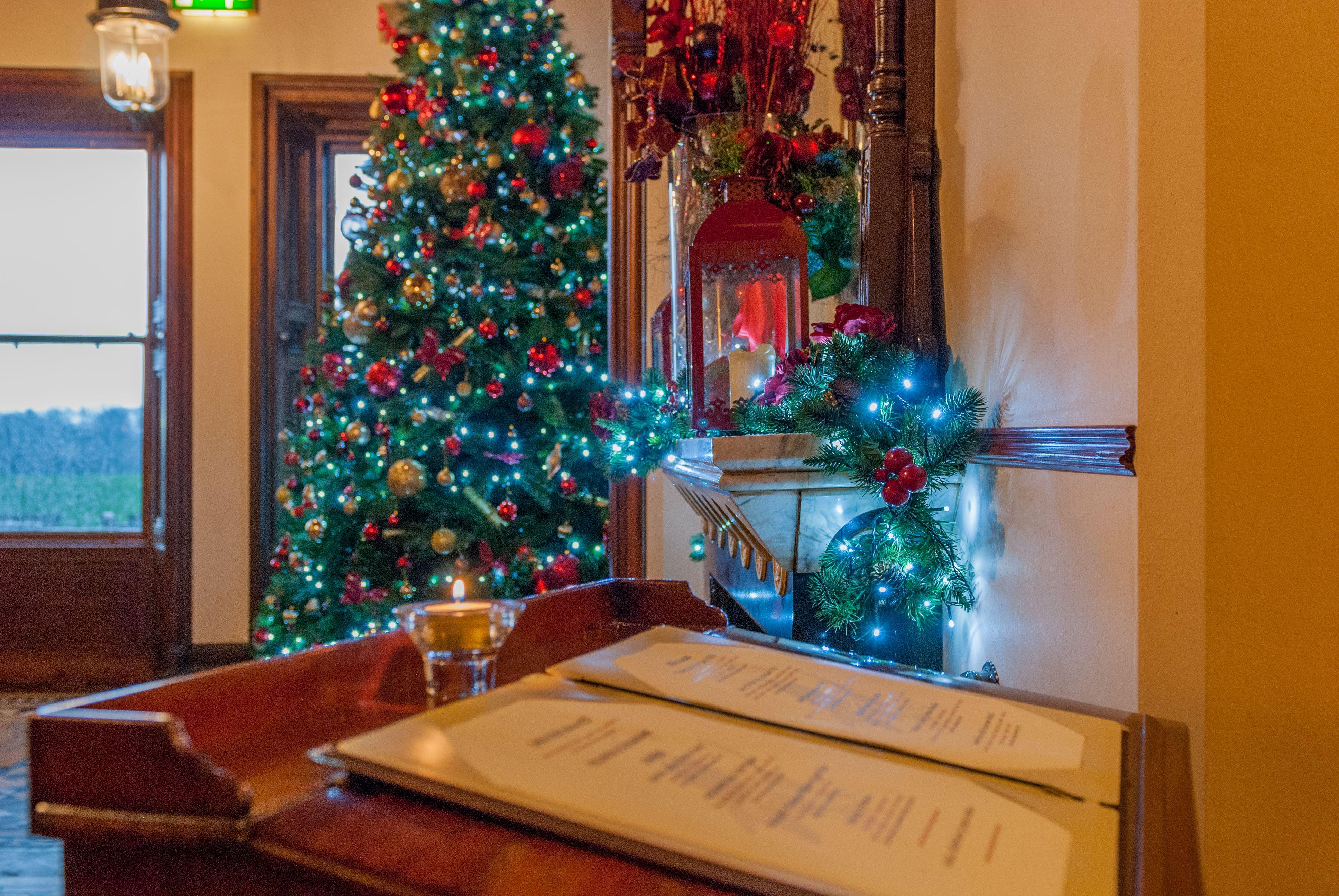 Christmas Decorations 2015 Mount Falcon Estate www