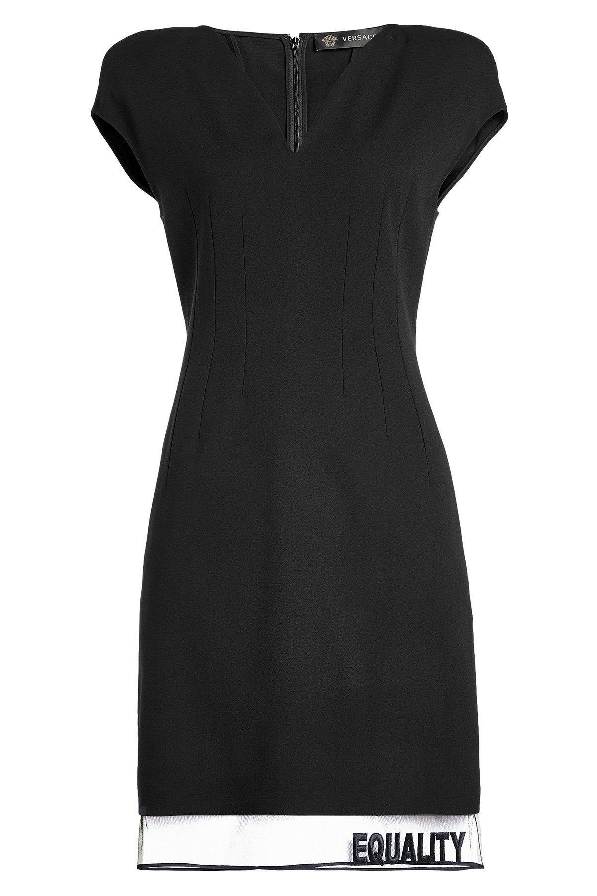 STYLEBOP.com (DE) - #Versace Versace Cocktailkleid mit Wolle und ...