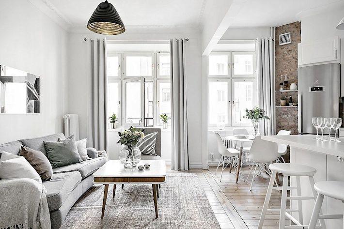 Decoración apartamentos pequeños cocina integrada y detalles en - decoracion de apartamentos pequeos