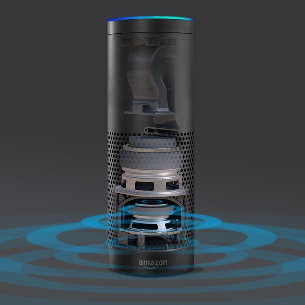 Inside Of Amazon Echo Speaker Use Amazon Echo To Control Your