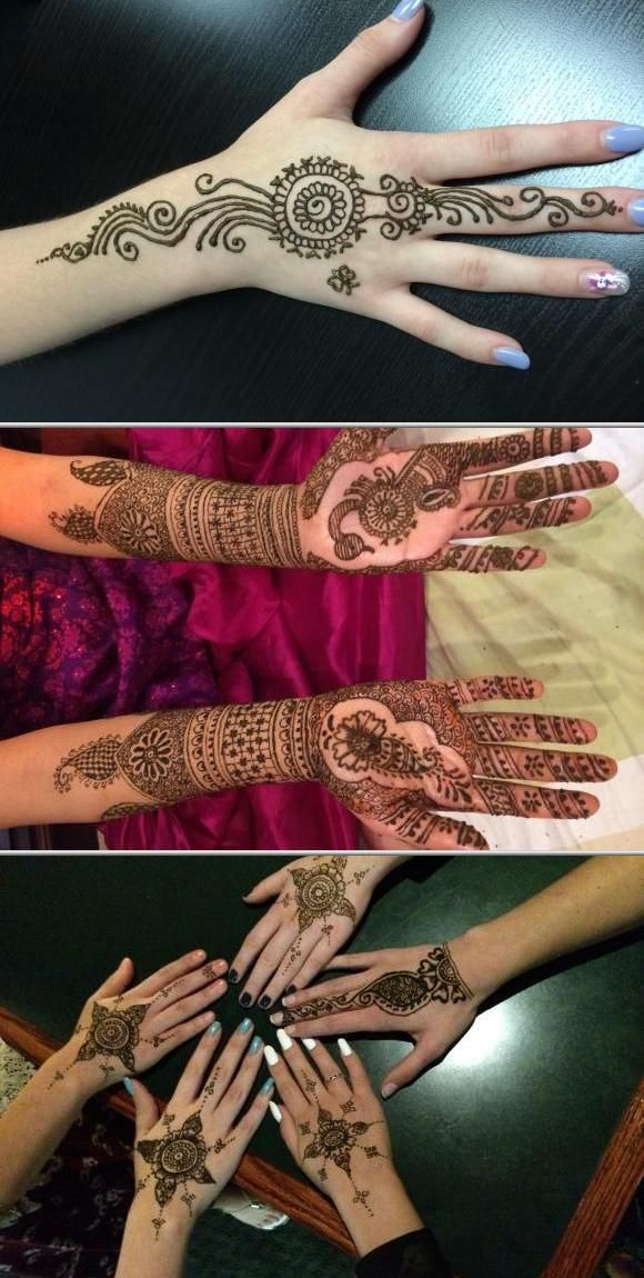 Offering beautiful tattoo hennas for face is something ...