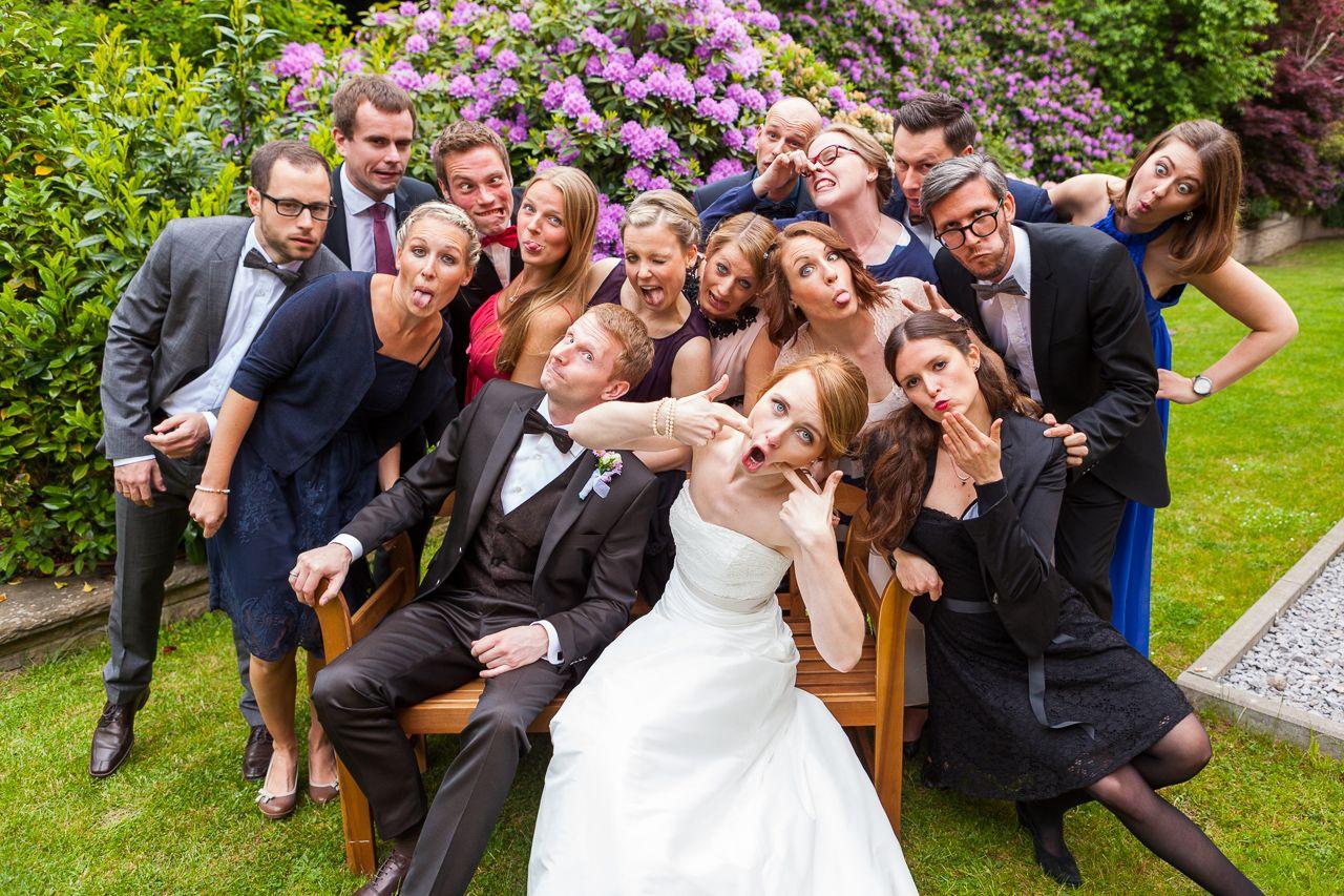 BuMbastische Hochzeit in Bochum  Hochzeit Gruppenfotos
