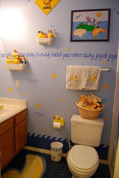 48 Bathroom Designs Of Kids' Dreams In 48 Interior Design Ideas Impressive Bathroom Designs For Kids