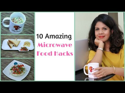 10 Amazing Microwave Food Hacks Easy Recipes