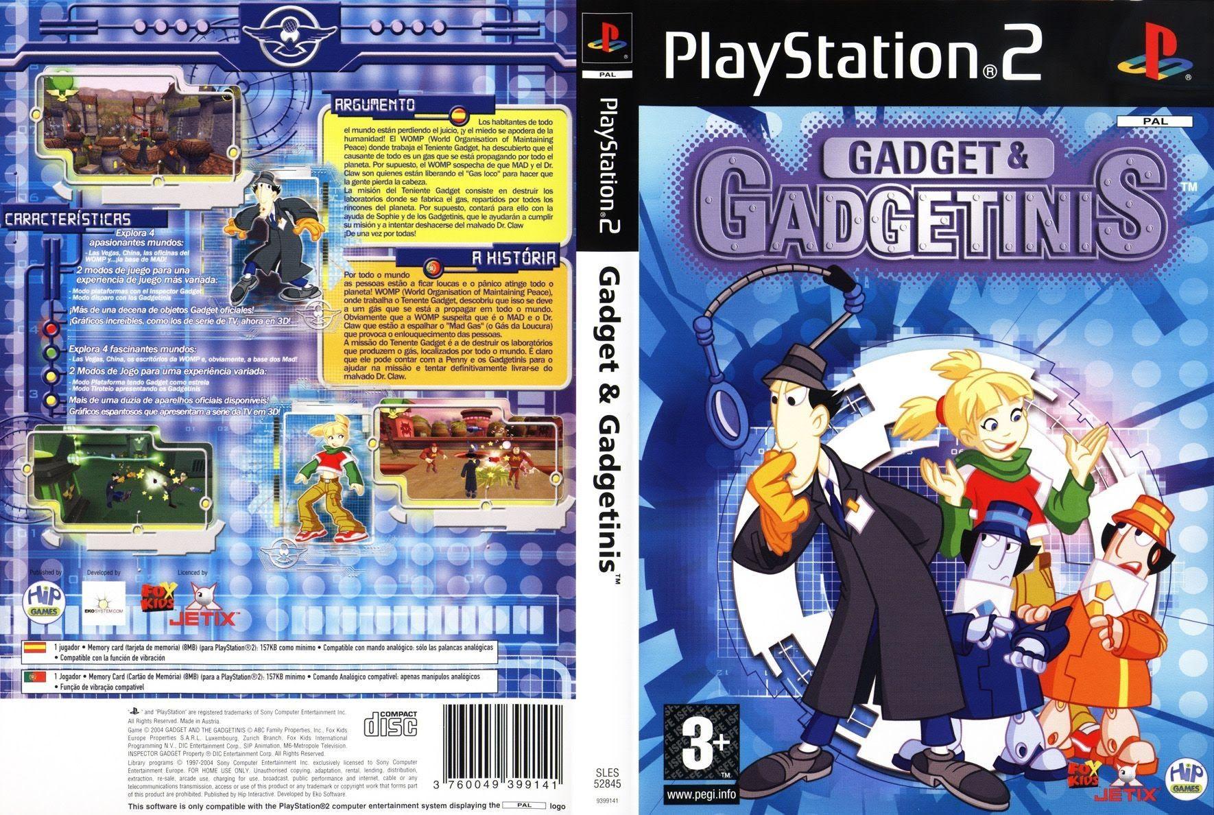 Gadget & the gadgetinis PS2 Walkthrough/lets play part 1