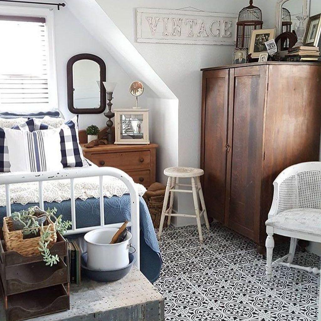 Vintage Beach bedroom - 30+ Adorable Vintage Beach Bedroom ...