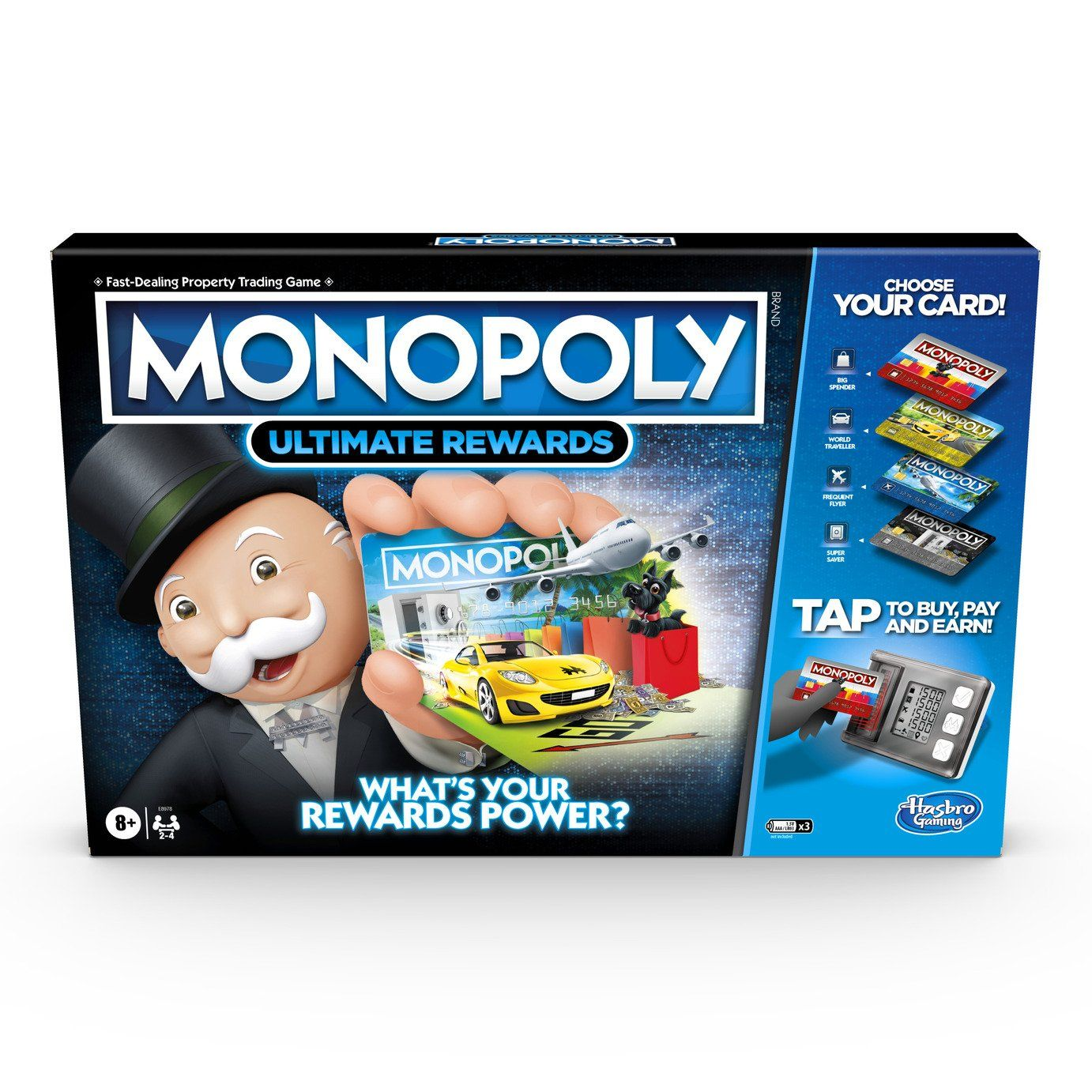 Buy Monopoly Super Electronic Banking From Hasbro Gaming Board Games Argos Electronic Banking Monopoly Monopoly Game