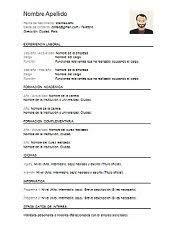 Resultado De Imagen Para Modelos De Curriculum Vitae En Argentina