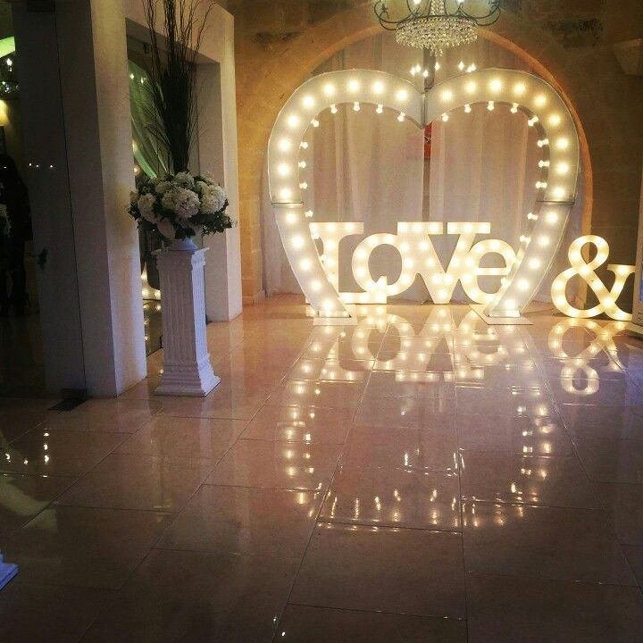 Wedding props Love sign Marquee lights handcrafted arch heart arch initials & Wedding props Love sign Marquee lights handcrafted arch heart ... azcodes.com