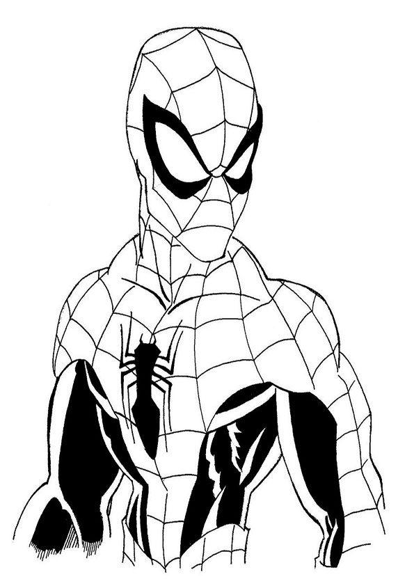 ten großartig spiderman malvorlage eingebung 2020