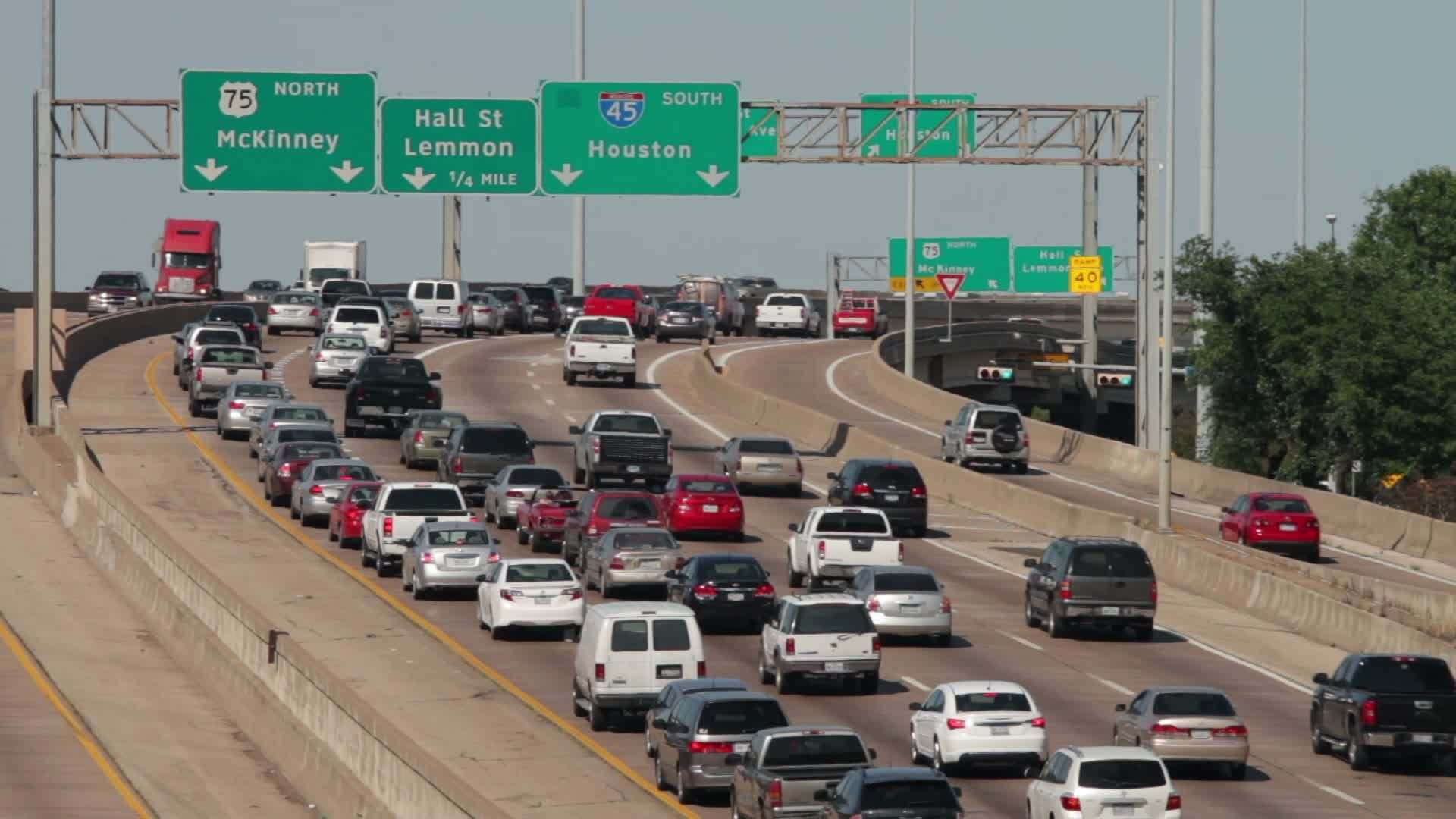 Do not waste your time in heavy Houston traffic, driving
