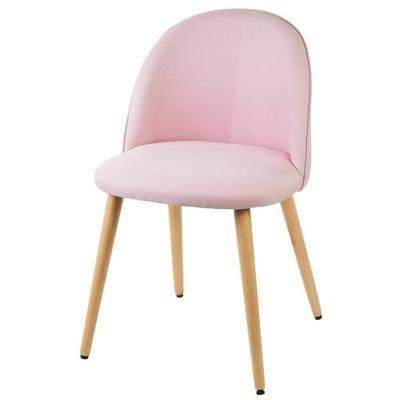 MACARON Chaise de salle à manger pieds bois hêtre massif