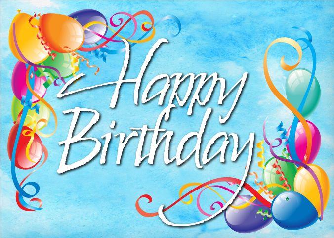 Happy Birthday Balloons Postcard Happy Birthday – Happy Birthday Cards for Friend