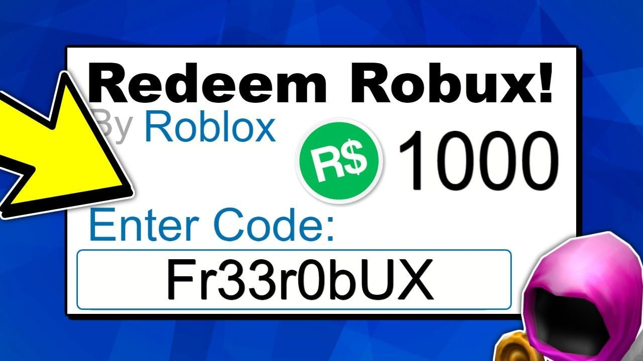 Enter this promo code for free robux on roblox july