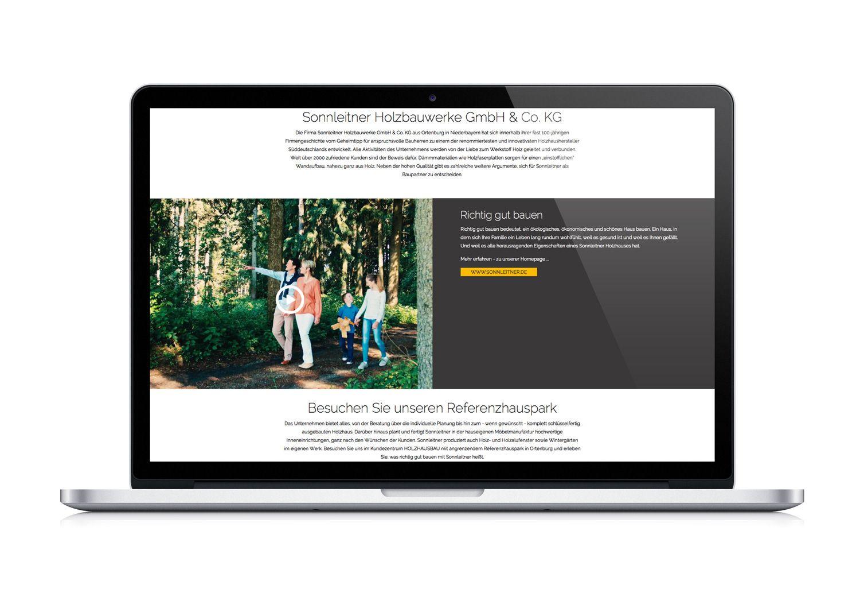 Sonnleitner Ortenburg sonnleitner holzbau holzhaus holz wood web website