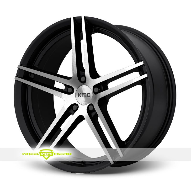KMC KM703 Machined Black Wheels For Sale & KMC KM703 Rims And Tires