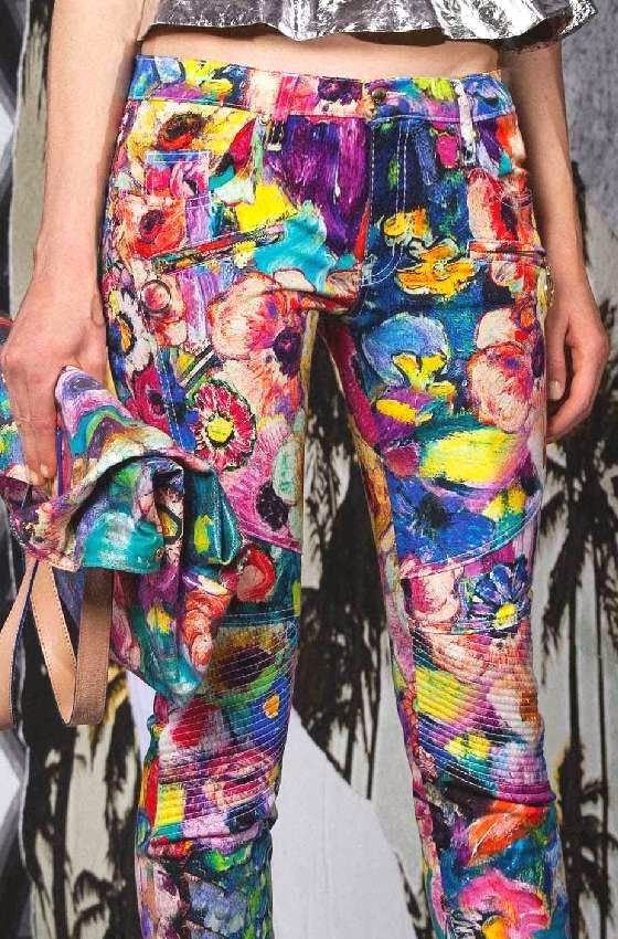 patternprints journal: PATTERNS AND PRINTS FROM PRE-SUMMER 2015 WOMAN FASHION COLLECTIONS / just Cavalli