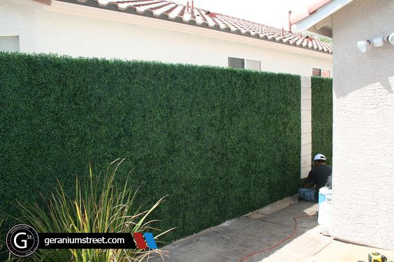 completed wall for our customer