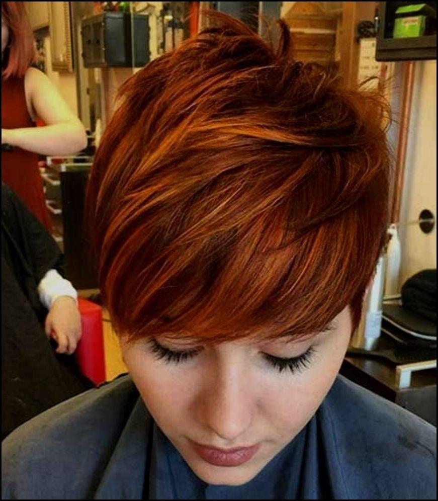 Erstaunlich Kurzhaarfrisuren Frauen Kupfer Kurzhaarfrisuren Einzigartige Haarfarbe Haarschnitt Kurz