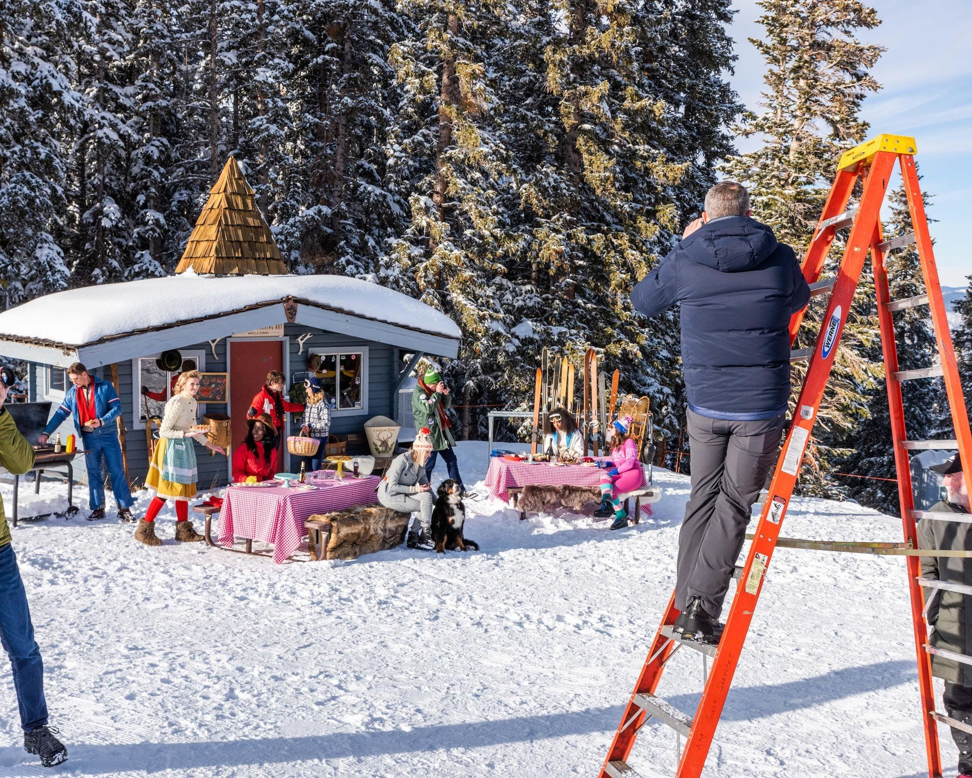 Behind the Scenes The Making of Gray Malin in Aspen in