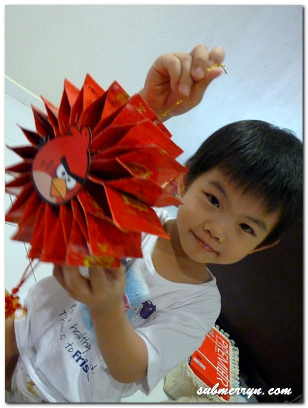 DIY Chinese New Year decor : Angry Bird Ang Bao Wheel of ...