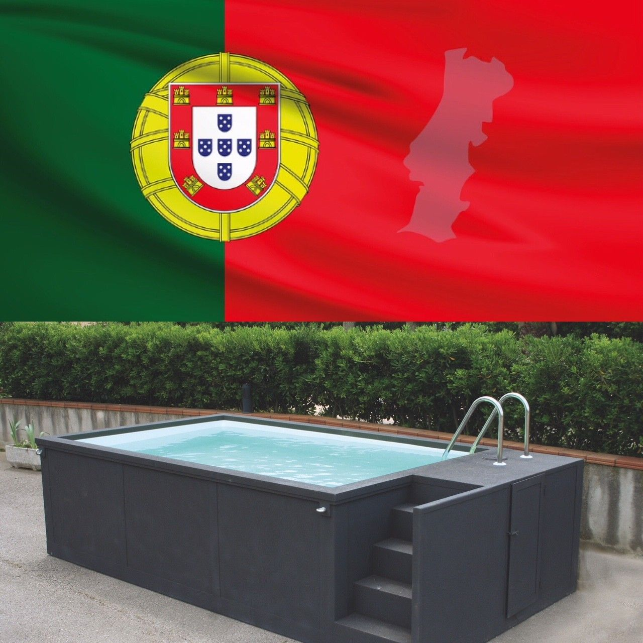 Piscine Hors Sol Portugal portugal acheter piscine container résistance : piscine