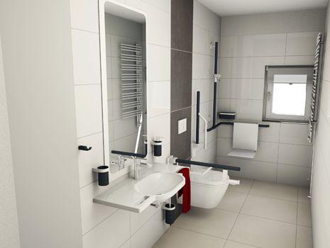 badplanung barrierefreies bad barrierefreies bad pinterest b der barrierefrei und. Black Bedroom Furniture Sets. Home Design Ideas