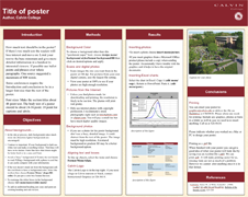 Poster Templates Academic Poster Poster Presentation Template Research Poster