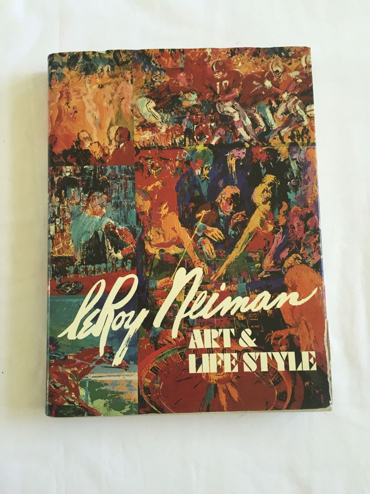 LEROY NEIMAN Art & LifeStyle 1st Printing Bound In ITALY HC w DJ Illustrated