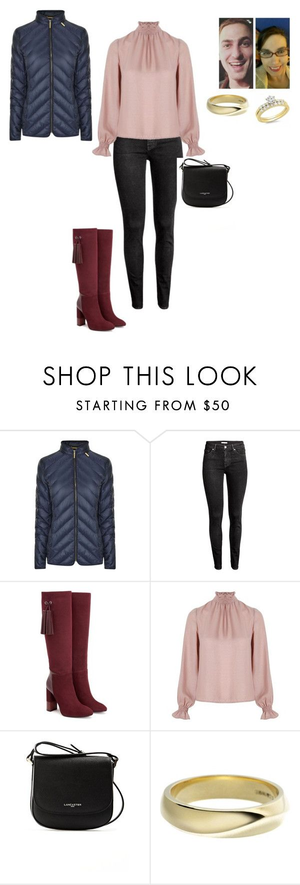 """""""Happy Sunday to you all"""" by joydjschmidt ❤ liked on Polyvore featuring MICHAEL Michael Kors, H&M, Aquatalia by Marvin K., Related, Lancaster and Shaun Leane"""