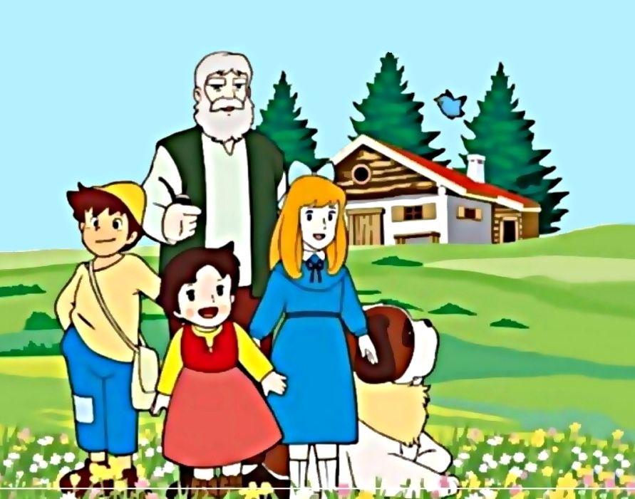 The Story Of Heidi هايدي Cartoon Heidi Cartoon Tv