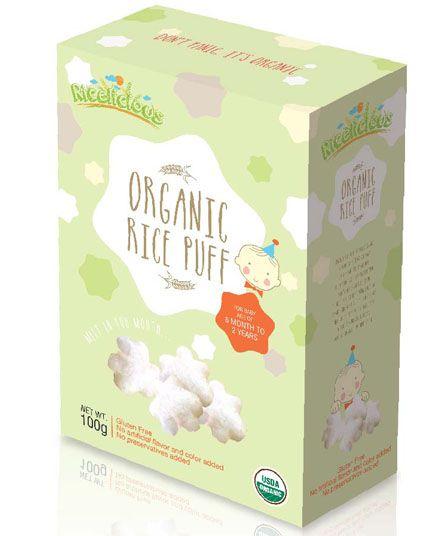 Ricelicious Organic Jasmine Rice Original Puff