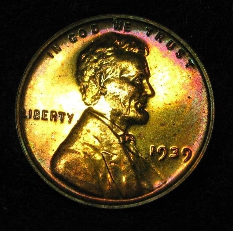 1939-S Lincoln Cent Choice BU Uncertified
