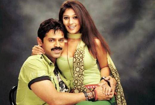 Venkatesh - Nayantara, the crazy combination worked out well at box