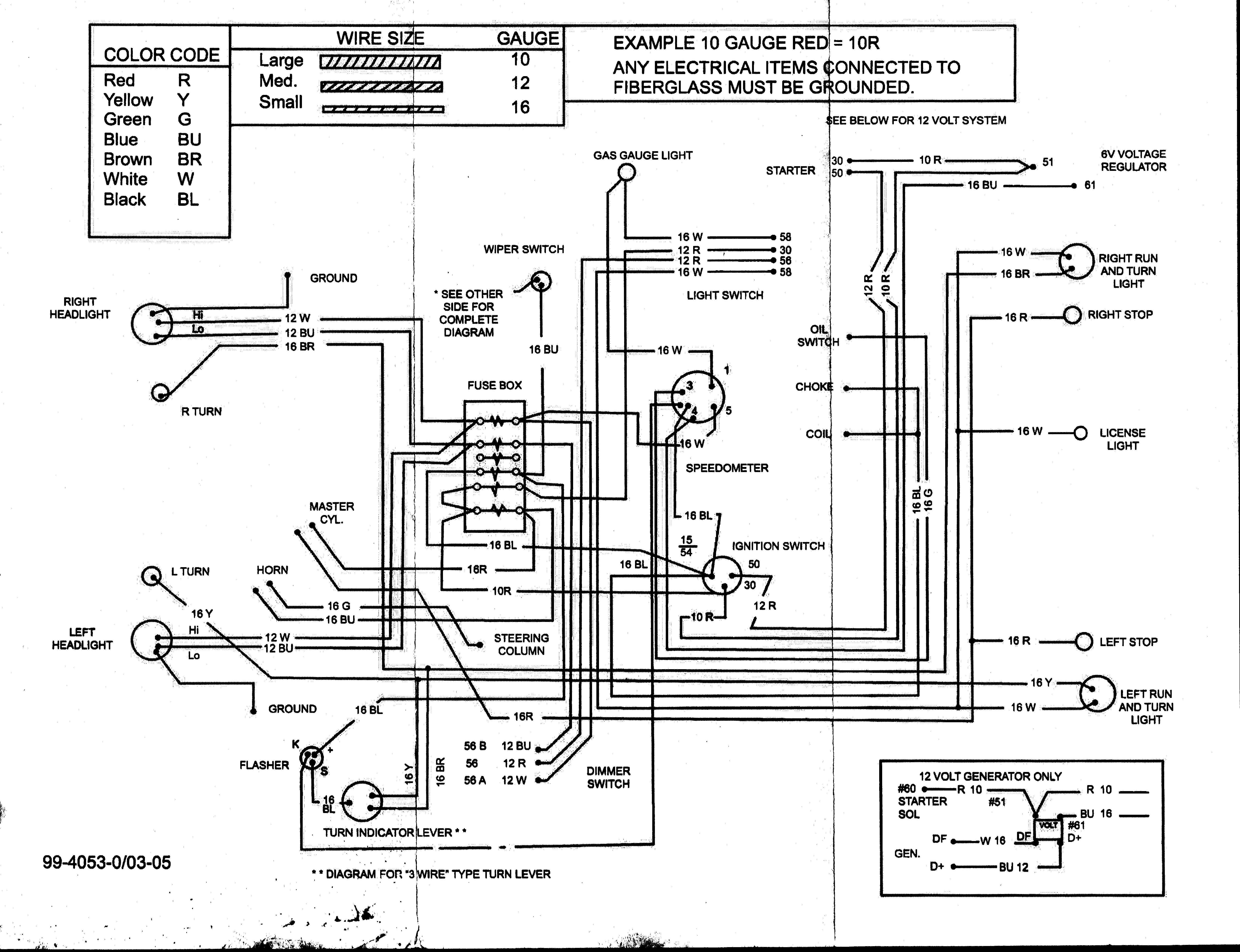 Manx Buggy Wiring Diagram