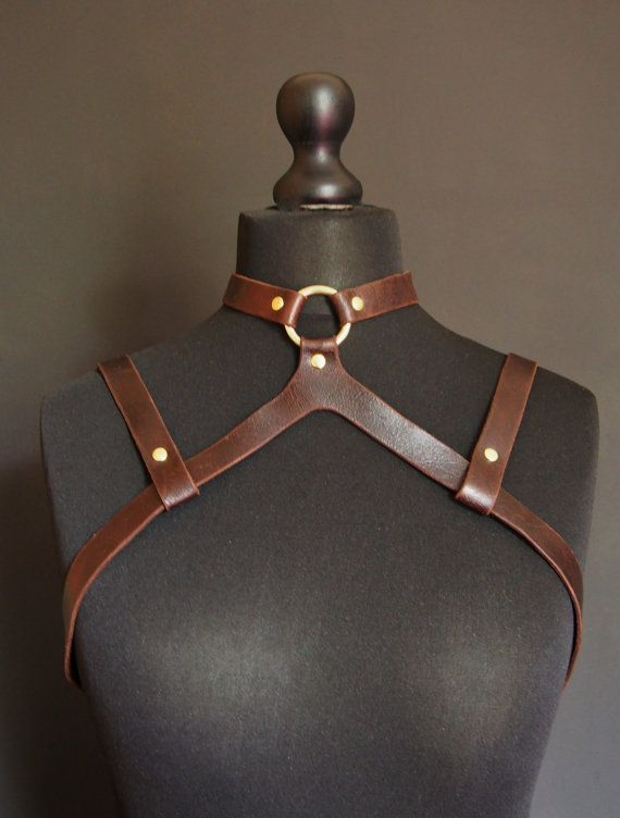 Altar Modular Leather Harness Genuine Pull Up Leather by HORD