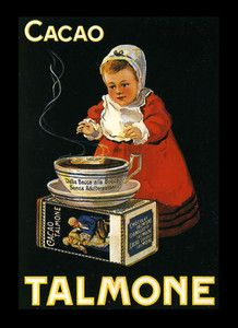 Cacao Talmone Vintage Advertising Posters