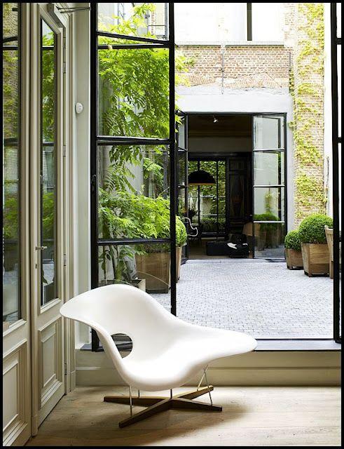 En una casa es casi vital tener un patio, independientemente de que