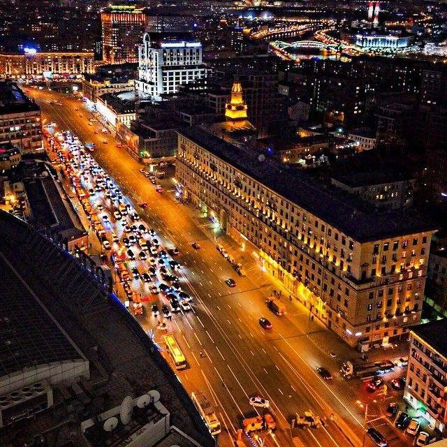 """""""Доброй ночи, Москва!"""""""