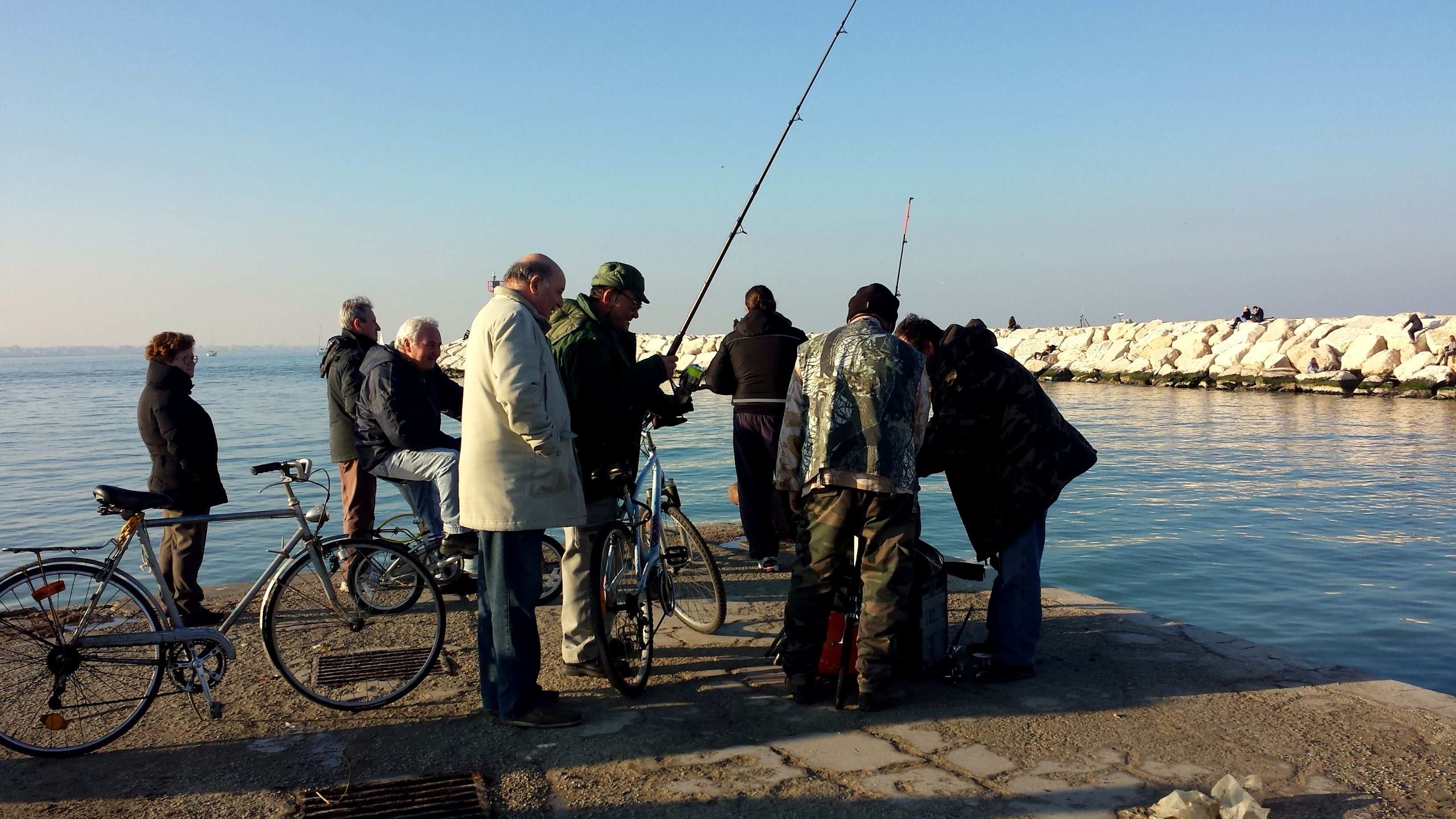 pescatori fishermen