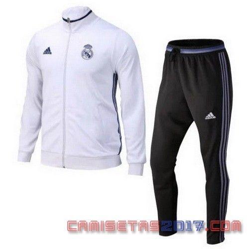Nueva chaqueta blanco del Real Madrid 2017 €34.9!!  91cf4f6b98c59