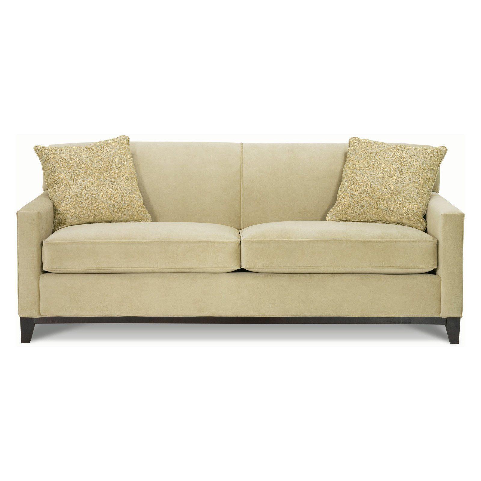 Rowe Martin Queen Sleeper Sofa Pistachio Living Rooms