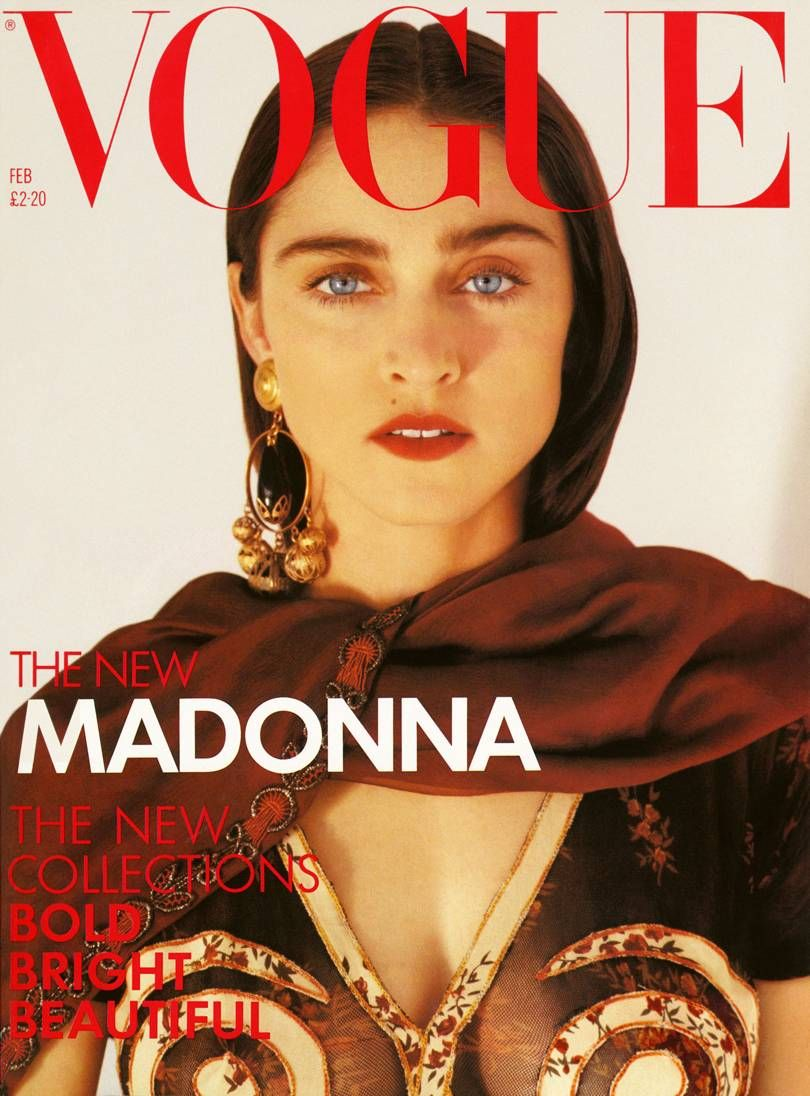 Madonna At 60 Vintage Vogue Covers Madonna Vogue Vogue Covers