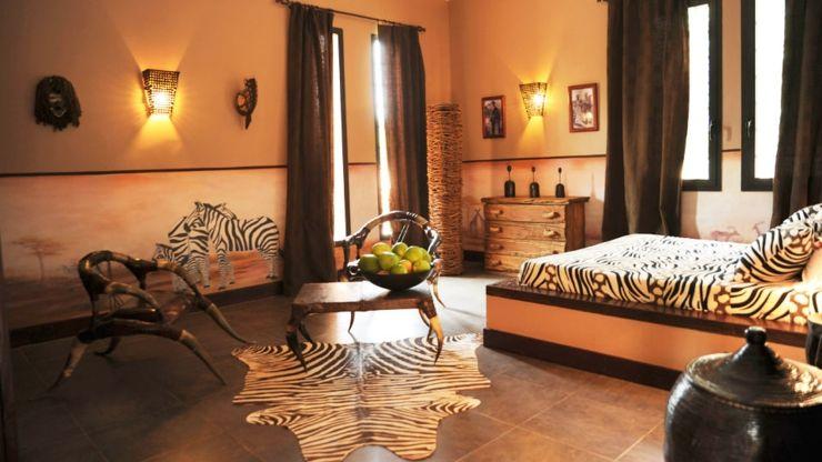 villa de vacances exotique au s n gal les chambres pinterest d coration int rieure. Black Bedroom Furniture Sets. Home Design Ideas